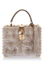 velvet box bag dolce &gabbana
