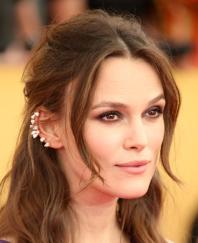 LOS ANGELES, CA - JANUARY 25: Actress Keira Knightley attends TNT's 21st Annual Screen Actors Guild Awards at The Shrine Auditorium on January 25, 2015 in Los Angeles, California. (Photo by Dan MacMedan/WireImage)