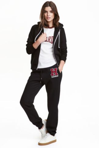 joggers-with-a-print-motif-hm