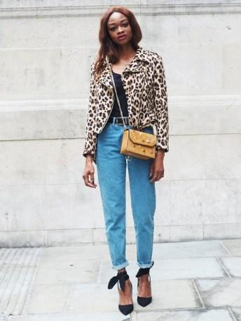 leopard print zara jacket