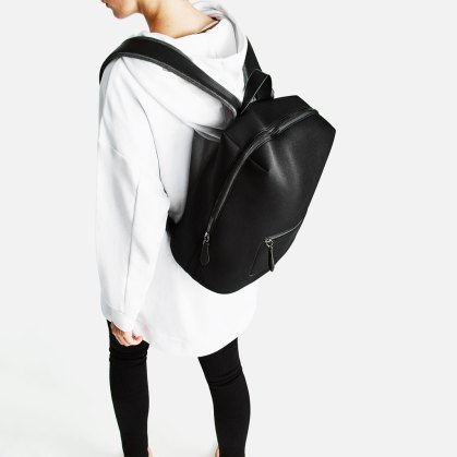 technical fabric backpack