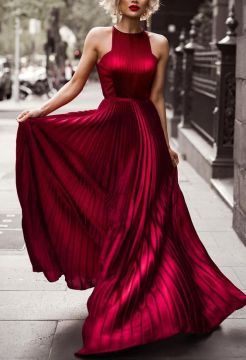 glorious pleated dress