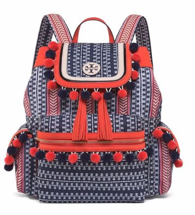 pom pom backpack tony burch