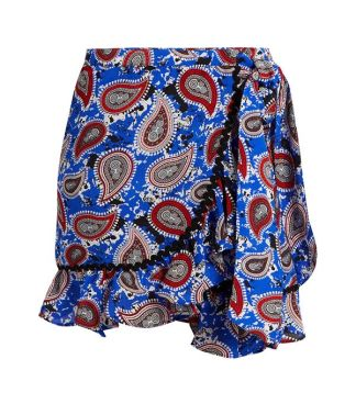 dodo bar or paisley miniskirt