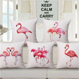 pillows flamingo