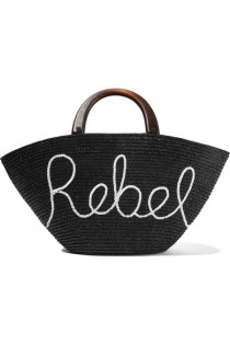 carlotta sequin embellished woven straw tote