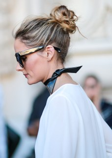 highlighted-hair-bun
