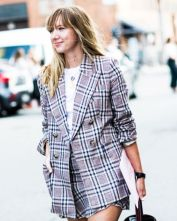 checked tailoring