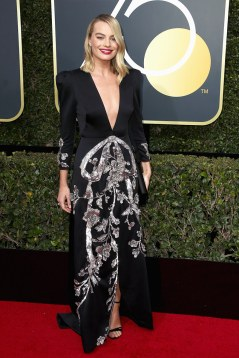 margot-robbie-2018-golden-globe-awards gucci