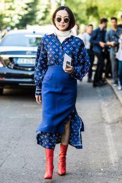 long dress and skirt