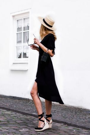 espandrilles black look