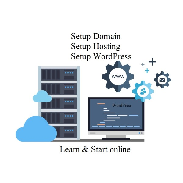 domain hosting wordpress basic ebook