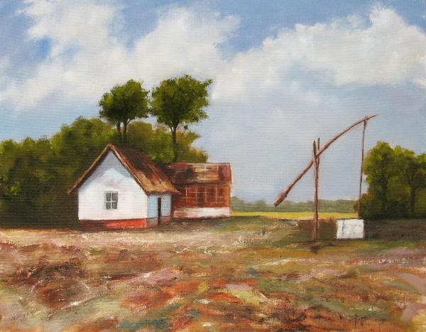 Farm Oil Paintings