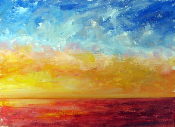 In Oil Painting Fine Arts - Original