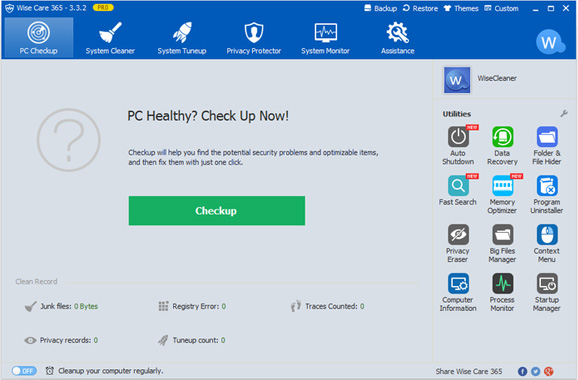 Wise Care 365 Pro License Key 2019 Full Version for 1 Year