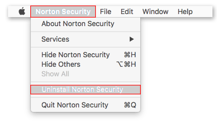 How to Uninstall Norton Security on MAC