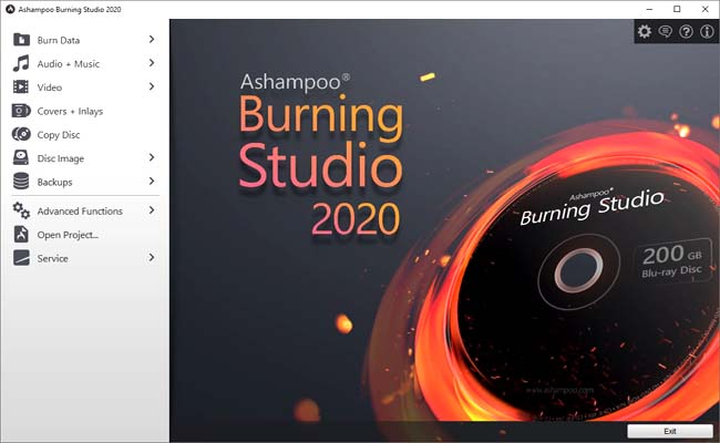 Ashampoo Burning Studio 2020 License Key Free Download