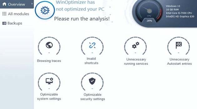 Ashampoo WinOptimizer 2021 License Key Free