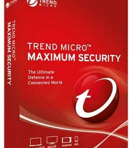 Trend Micro Maximum Security+Antivirus License Free for 6 Months