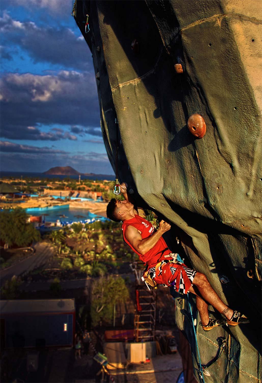 La 3º Prueba  en Fuerteventura de la Copa Canarias de Escalada