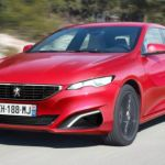 2015 Peugeot 408 Red