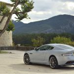2015 Aston Martin DB9 Mako Blue Exhaust