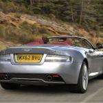 2015 Aston Martin DB9 Skyfall Silver Exhaust