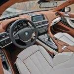 2015 BMW 6 Series Sedan Interior