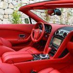 2015 Bentley Continental GT Convertible Interior