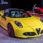 2017 Alfa Romeo 4c Spider