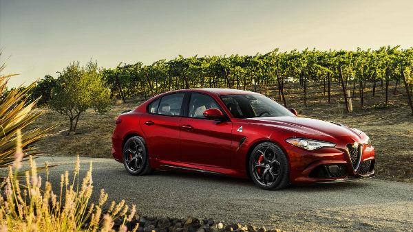 2017 Alfa Romeo Giulia Model