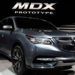 2018 Acura MDX Prototype