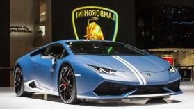 2018 Lamborghini Huracan Performante Blue