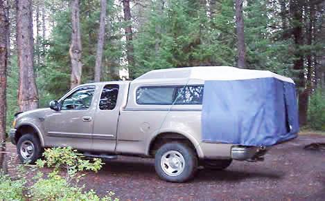 DAC Full Truck Tent