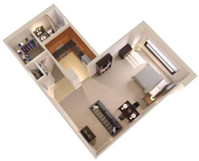 Efficiency Apartment The Moonstone