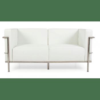 lc3 sofa contemporary comfortable corbusier two seater