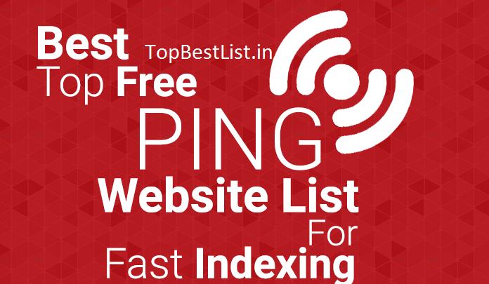 Best 5 pinging websites