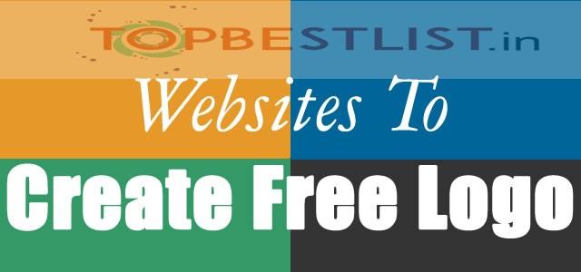 Top Best Free Logo creating websites