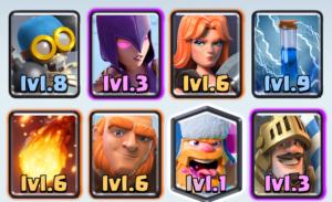 arena 8 deck clash royale