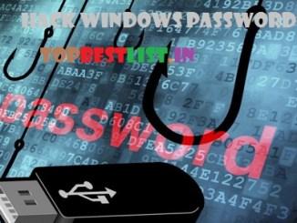 Hack Windows Password