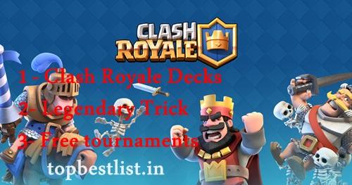 Best clash royale decks 2017