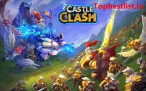 Popular games like COC