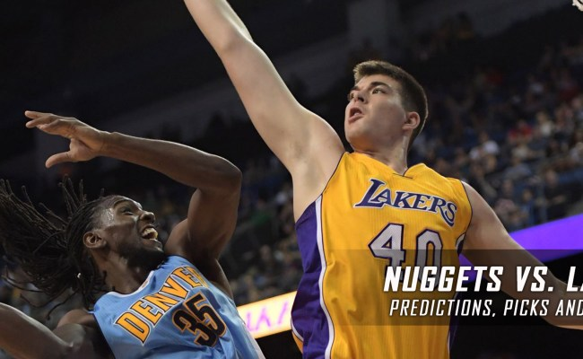Nuggets Vs Lakers Predictions And Preview January 2017