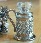Glass Stein Charm ~THIS IS THE ONLY ONE SELLING ON EBAY Sterling-Stamped-O
