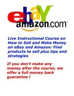 Live 1-on-1 Course How to Sell Make Money Selling on eBay Amazon Products + Tips