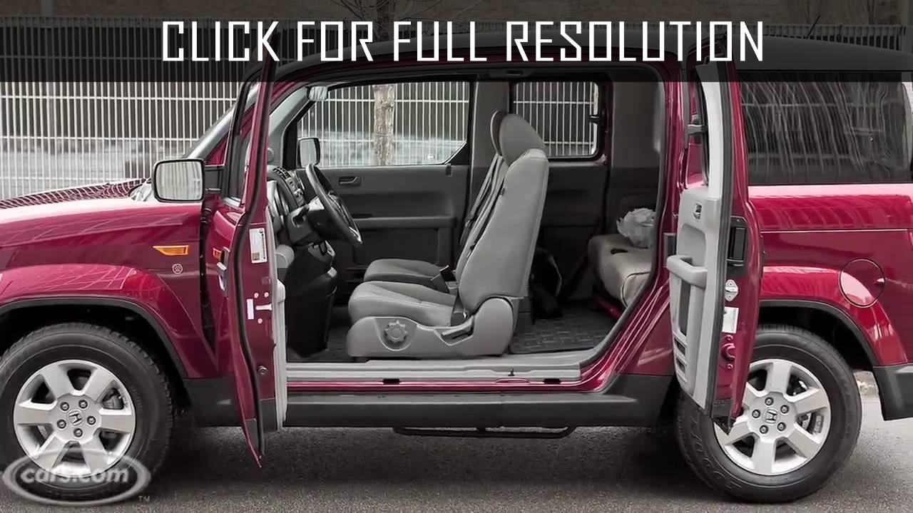 Honda Element Dog Edition  amazing photo gallery some information and specifications as well