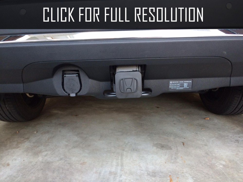 medium resolution of honda pilot hitch