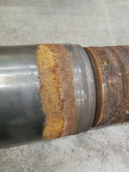 The ultimate solution for repair of corroded cylinder rods 2