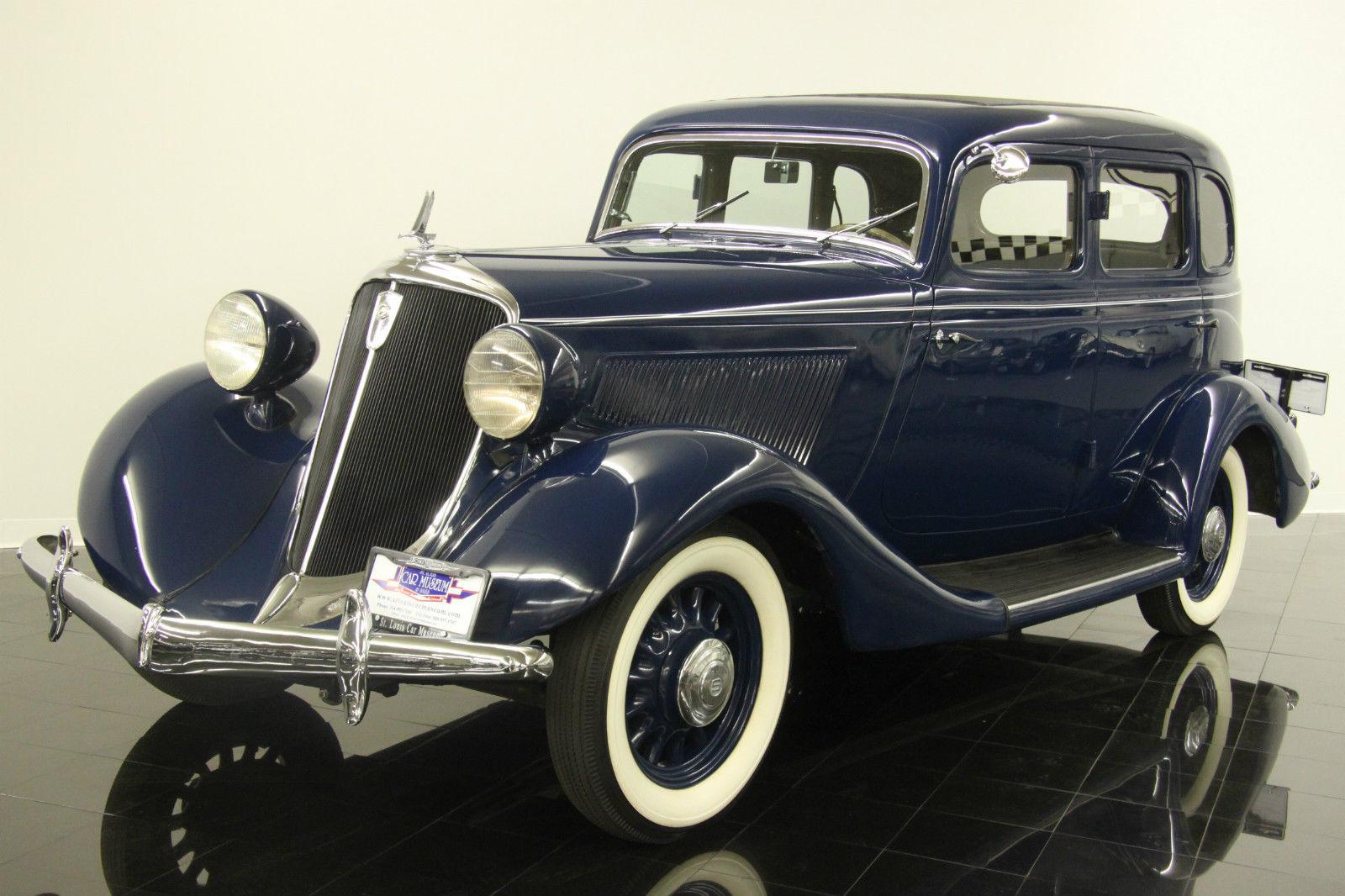 hight resolution of  m29 1934 studebaker dictator rare frame off restored to original highly on studebaker wiring harness