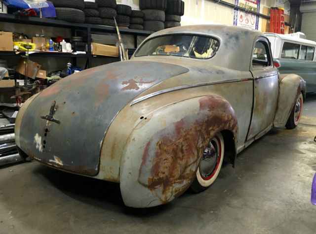1949 Interior Plymouth Coupe Business